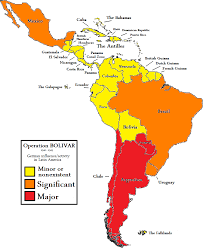Latin America Map Countries by