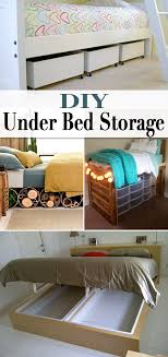 Lego Bed Frame Diy Bed Storage The Budget Decorator