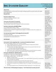 eric guillory resume eg