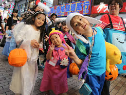 no tricks halloween all the rage in japan as costume play