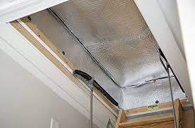 attic stairway insulator 25