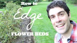 How To Mulch Flower Beds How To Edge A Flower Bed And Make It Look Sharp All Summer