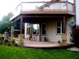 Two Story Deck Decks U0026 Pergolas Alpine Landscaping