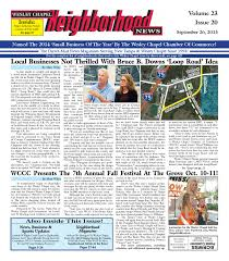 wesley chapel neighborhood news issue 20 september 26 2015 by