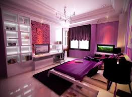 bedroom teen bedroom decor for purple theme with purple computer