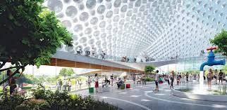 google u0027s new campus architects ingels heatherwick u0027s moon shot