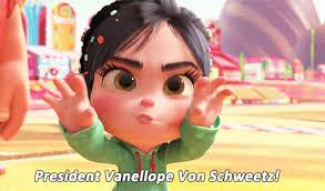 Vanellope Von Schweetz Meme - president vanellope von schweetz gifs get the best gif on giphy