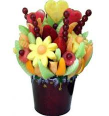 edible flower arrangements this garden is sure to impress comes with pineapple flowers
