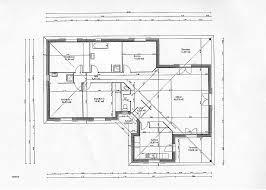 plan maison en l plain pied 4 chambres chambre plan maison 120m2 4 chambres high definition
