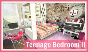 Teenage Room Sims 4 Teenage Bedroom Ii Dinha
