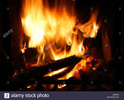 fire in domestic hearth heat flame flames heating fireside warmth