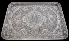 engraved tray engraved silver tray iran