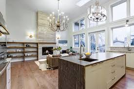 kitchen living ideas 55 open concept kitchen living room and dining room floor plan ideas