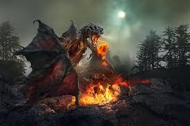dragon fire pit danger boy blog dangerous deeds done