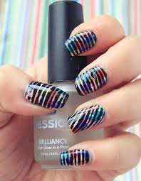 beautiful u0026 elegant 30 striping tape nail art designs 2017 it