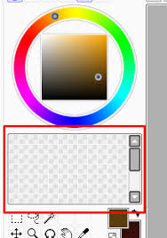 paint tool sai color swatches not saving