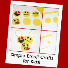 simple emoji crafts for learning and play wikki stix