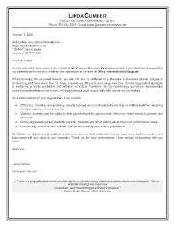 Cover Letter For Entry Level Cover Letter Admin Cover Letter Example Administration Cover