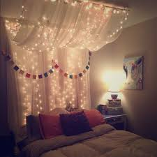 Full Queen Bed Canopy with lights