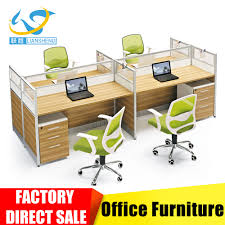Partition Furniture by Office Workstation Wooden Staff Partition Furniture Table Design