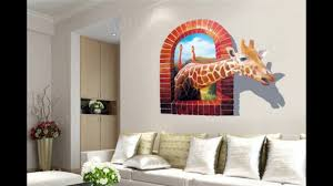 top 50 3d wall decor ideas for 2017 panels stickers lighting