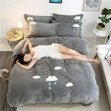 winter warm farley velvet quilt bedding set luxury velvet