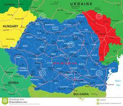 Romania Map Romania Map Stock Vector Illustration Of Constanta Europe 28088638