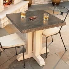 Round Concrete Patio Table Granite Patio Tables Foter