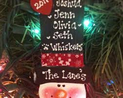 family ornament personalized etsy