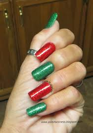 custom nail solutions add a festive u0026 merry manicure to your