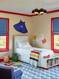 Blue And Red Boys Bedroom Red And Blue Kids Bedrooms Design Ideas