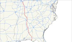 Montgomery Al Zip Code Map by U S Route 231 Wikipedia