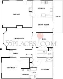 monterey floorplan 1807 sq ft oakmont village 55places com