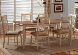 Casual Dining Room Tables by Cottage Cove Ivory Finish Casual Dining Room Set Hillside Cottage