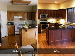 how to refinish kitchen cabinets without stripping how to stain kitchen cabinets without sanding how to refinish