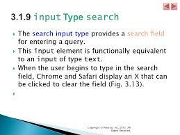 html input pattern safari internet world wide web how to program 5 e copyright pearson
