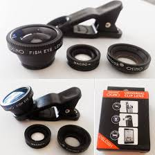 Lensa Cembung Selfie heroshop romdankurkur lensa 3in1 makro wide fisheye 3 in 1