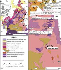 map of cameroon geology of southeastern cameroon a geological map of cameroon