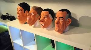 president halloween mask the ex presidents point break robbery masks youtube