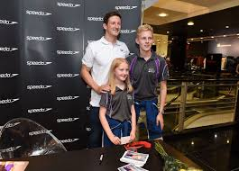 teenage speedo boys in pictures team scotland stars meet their fans daily record
