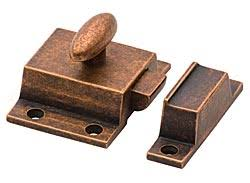 cliffside sbcl oc solid brass cabinet latch old copper the