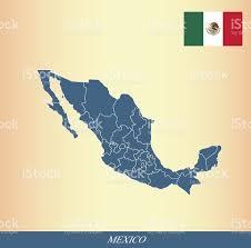 Chiapas Mexico Map Mexico Map Outline Vector And Australian Flag Vector Outline Stock