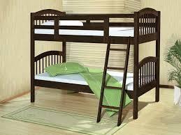 Acme  Manville Espresso Wood Kids Twin Twin Bunk Bed - Espresso bunk bed