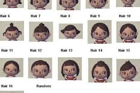 all acnl hairstyles with colours acnl hairstyles immodell net