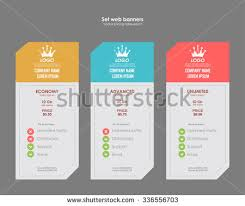 price plan design modern pricing table template vector download free vector art