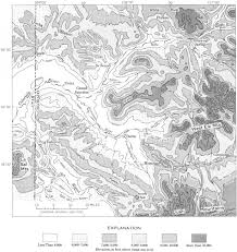 Map Of Grand Junction Colorado by Usgs Geological Survey Professional Paper 669 C