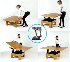 Adjustable Coffee Dining Table Adjustable Height Coffee Dining Table Height Adjustable Extending