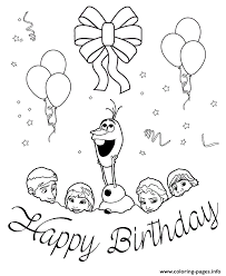 frozen characters snow colouring coloring pages printable