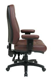 Best Leather Chairs Amazon Com Office Star Professional Dual Function Ergonomic High