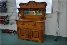 candiana antique oak buffet u0026 hutch with shelf storage bevel